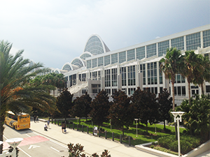 WPC2015の Orange County Convention Center