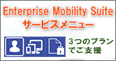 Enterprise Mobility Suite サービスメニュー